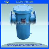 factory hand hold 100um basket strainer oil filter