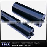 High quality steel trough idler rollers for belt conveyor