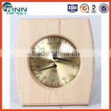 Factory price hight quality sauna accessories sauna room use 3 inch pine wood sauna room thermometer