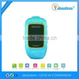 Cute GSM Watch GPS Tracking Device for Kids / Position Monitoring kids GPS Tracker Watch with Android and IOS APP