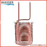 Copper tube / stainless steel 304 cooling coils for water cooler
