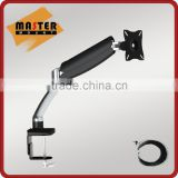 Gas Spring LCD Table Mount TV Bracket for 10 to 27 inch Screen