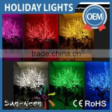 3m High Simulation Led Artificial Cherry Blossom Tree With Leaves For Decoration                                                                         Quality Choice