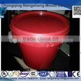10l latex paint storage bucket. emulsion paint container 10L plastic emulsion paint plastic pail. 10L emulsion varnish barrels