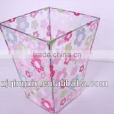 pvc plastic wire frame sorting storage bin for bath toy