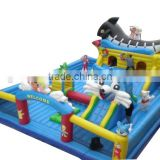 Giant Bear Theme Inflatable Jumping Combo Moonwalk Air Playground for Kids