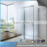 German fashionable 3 sided shower enclosure with 8mm glass stainless steel hardwares                                                                         Quality Choice                                                                     Supplier's