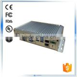 intel core i3 i5 CPU 2*LAN 6*USB 10*COM 2 *Mini PCIE 1*VGA 1*DVI industrial fanless embedded box pc