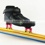 Professional short track Ice Speed Skate ice Skate boot custom carbon boot speed ice skate black color