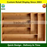 6-Slot Bamboo Drawer Organizer Tray YM1-761