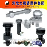 big hexagon cap Steel structure tor shear connection bolt and nut
