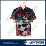 motorcycle shirts racing team pit crew shirt