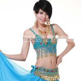 New hot fashion beautiful elegant bellydance clothing,sexy sequin tassels Beaded belly dance bra (SZ008)