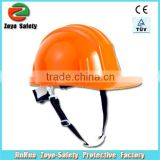 CE Certificate HDPE Or ABS Material Construction plastic head protection safety helmet wholesale
