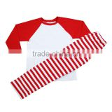 2Pcs Christmas Baby Kids Pants Pajamas Pyjamas Sleepwear Xmas Girls Boys