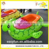Newest animal tube bumper boats for sale, new design amusement water electric bumper boat