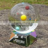 2015 new arrival The eight star crystal glass Spheres planets insider ball for gift arts (R-2330