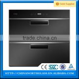 Tempered disinfection cabinet glass , electric dish sterilizer glass, kitchen appliance glass