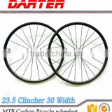 Hookless rim wholesale cheap 700C carbon bicycle wheels