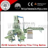 New Popular Automatic Weighing Hollow Fibre Pillow Filling Machine With Certification ZXJ-88 Series