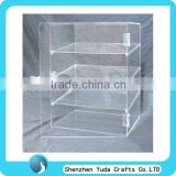 acrylic bakery display case clear cabinet display acrylic cabinet display whowcase holder