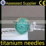 China Leading Supplier Mns 192 Needles Titanium Derma Roller Skin Care Products For Home Use
