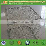 1X1X1 Hexagoanl Weave Protect Cage Stainless Steel Gabion Basket