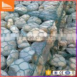 Anping factory direct sale diamond galvanized gabion basket with iso9001 certification standard