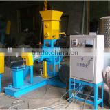 2012 Best seller wide output range automatically floating fish food dry extruder machine