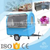 Popular mobile Fast Food Cart /fast food kiosk / fast food truck/hot dog cart mobile food