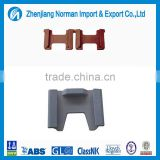 Shipping container lashing part singe 55 degree dovetail foundation