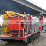 All Terrain water tank for fire fighting truck