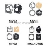 Supply all kinds of carburetor Diaphragm,Chainsaw carburetor gasket ring, engine parts The repair kit GX35