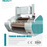 ROOT ceramic/granite/chilled alloy 3 roll mill