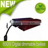 Hydroponic HID Lighting 600 Watt Dimmable digital Electronic Ballast for hydroponics indoor gardening growth