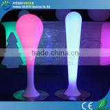 waterdrop shape cordless led floor lamp