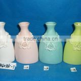 porcelain vases with flower