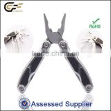 2016 best selling combination hardware tool multi purpose tools with fine-blanking plier head/scissors/led