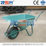 General purpose plastic tub wheelbarrow with a 90 litre / 120kg load capacity