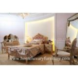 Children Bed sets neo classical bedroom sets furniture queen bed Solid wood Bed FB-116