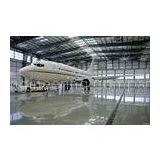 Electric Galvanized, Painting Metal Waterproof Airplane Hangar Of Piping Truss Buildings