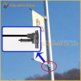Metal Street Light Pole Advertising Banner Hanger