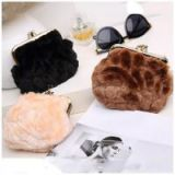 China imported purses luxury designer purse latest fur clutch purses SY6994