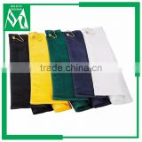 Golf ball cleaning towel for sports