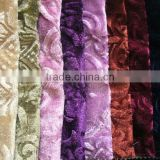 2013 New pattern middle east fabric,polyester tricot velvet, warp knitting velvet fabric