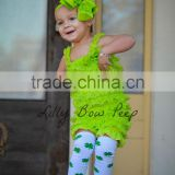 wholesale St. Patrick's Day leg warmer, baby cotton leg warmers, four-leaf clover leg warmer MC6012203