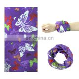 High quality custom logo tubular bandana stretchy headbands head scarf