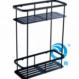 bathroom shelf shower rectangle caddy 2 tier