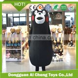 Lovely plush bear costume for adult accept custom your own design