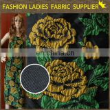 african fabrics textile clothes jacquard fabric for lady
